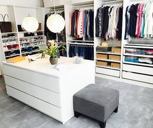 closet, idea, and white image