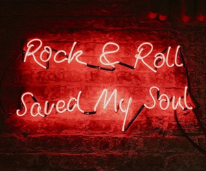 believe, neon, and rock image