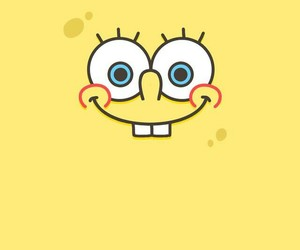 wallpaper, yellow, and cartoon image
