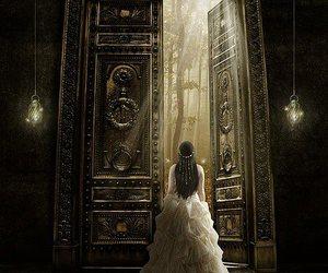 door, magic, and princess image