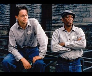 the shawshank redemption and morgan freeman image