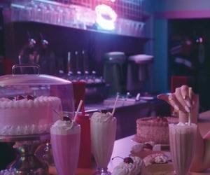 milkshake, retro, and vintage image