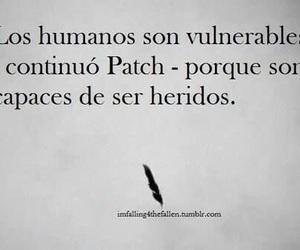 patch, hush hush, and book image
