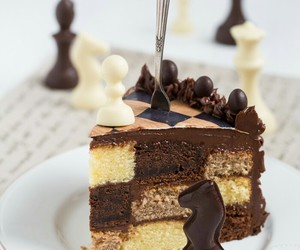 chocolate, yummy, and cake image