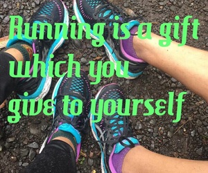 fitness, goals, and running image