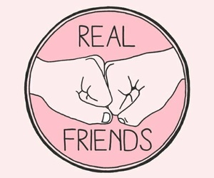 friends, real, and tumblr image
