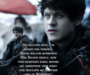 bastard, game of thrones, and iwan rheon image