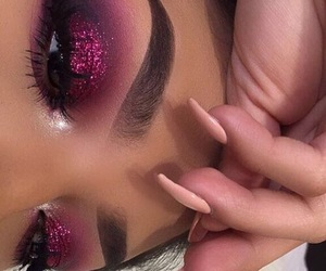 acrylics, cosmetics, and eyeshadow image