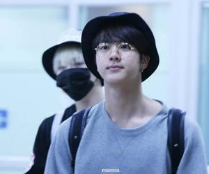 blue, seokjin, and cutie image