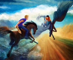 percy jackson, jason grace, and heroes of olympus image
