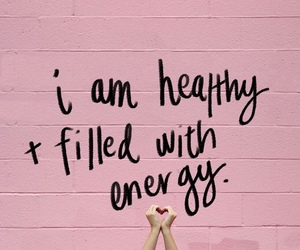 pink, energy, and healthy image
