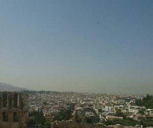 Athens, city life, and europe image