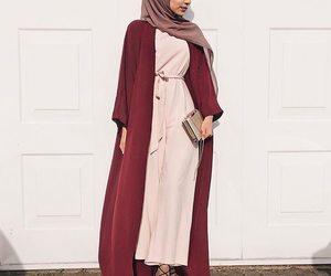 hijab, abaya, and modest image