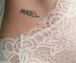 theme, tattoo, and angel image