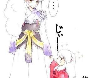 inuyasha, anime, and brothers image