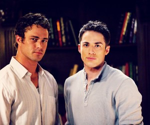 the vampire diaries, tyler lockwood, and mason lockwood image