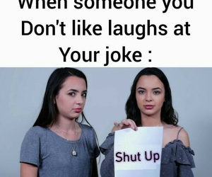 joke, veronica merrell, and merrell twins image