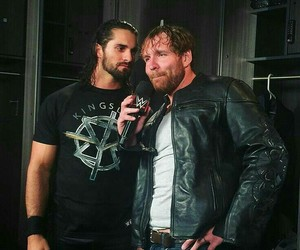 wwe, dean ambrose, and seth rollins image
