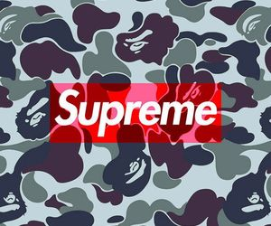 supreme, wallpapers, and cute image