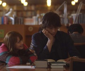 books, couple, and japanese image