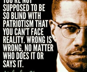 patriotism, reality, and wrong is wrong image