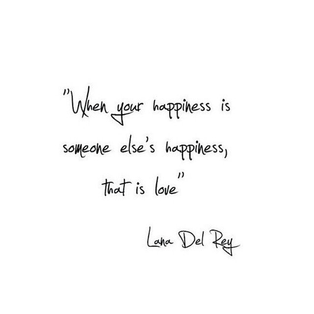 when your happiness is someone else s happiness that is love
