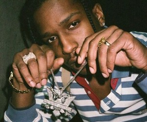 chains, rapper, and a$ap image