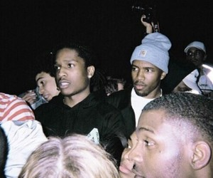 frank ocean and asap rocky image