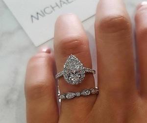 diamond, ring, and fashion image