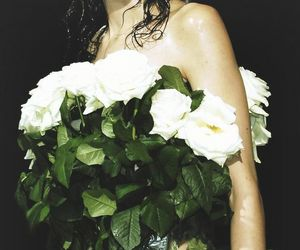 Couture, fashion, and flowers image