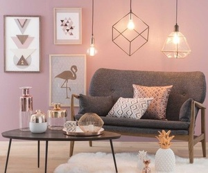 home, interior design, and lights image
