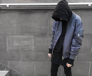black, aesthetic, and boy image