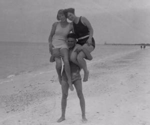beach, florida, and historic image