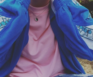blue, clothes, and icon image