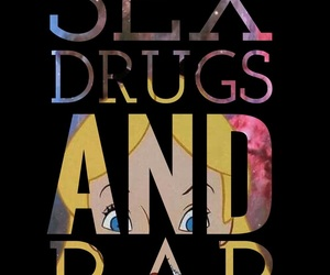 bff, drugs, and rap image