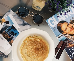 aesthetic, food, and pancake image