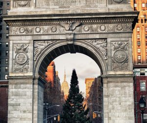 city, christmas, and paris image