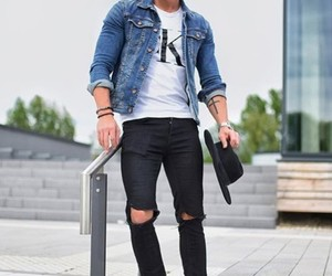 fashion, male, and men image