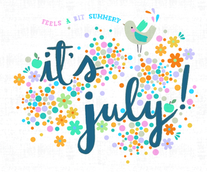 hola, july, and month image