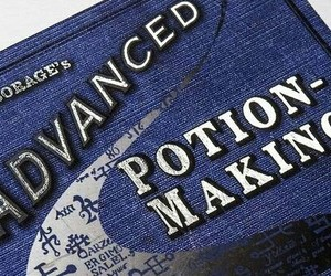 aesthetic, book, and potions image