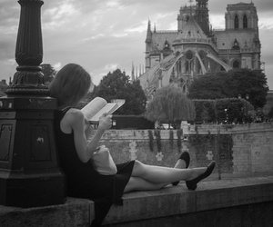 book, paris, and photography image