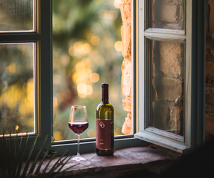 photography, window, and wine image