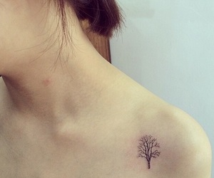 tatoo, tatuajes, and arbol de la vida image