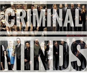 criminal minds, Reid, and gideon image