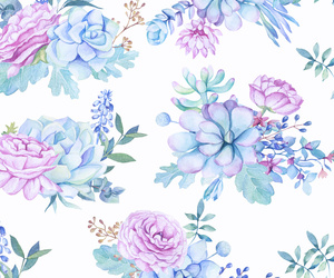background, exotic, and floral image