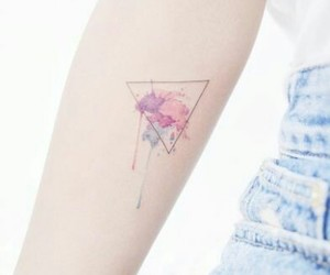 pastel and tattoo image