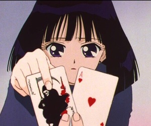 anime and sailor saturn image