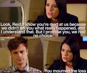 criminal minds, Reid, and prentiss image