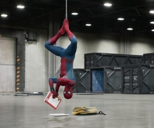 spiderman and spider-man: homecoming image