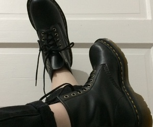 90's, boots, and combat image